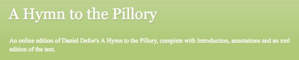pillory banner